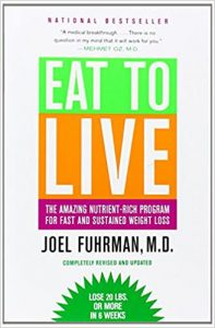 book cover for eat to live
